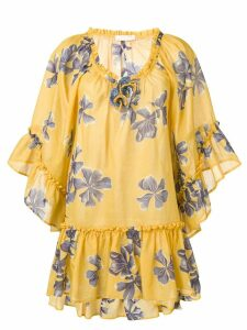 Anjuna Futura dress - Yellow