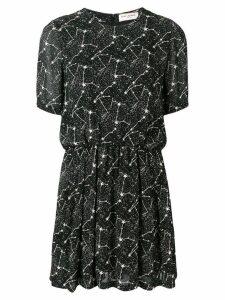 Saint Laurent Constellation print dress - Black