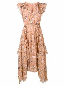 Ulla Johnson floral print dress - Neutrals