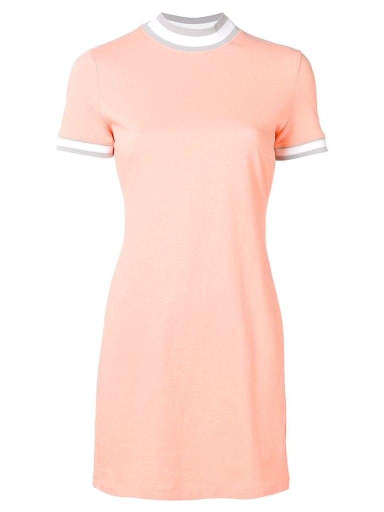 Alexander Wang mini T-shirt dress - Orange