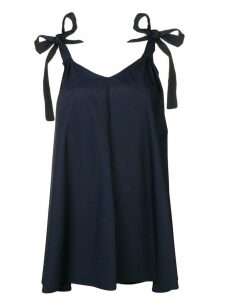 Blugirl flared V-neck dress - Blue