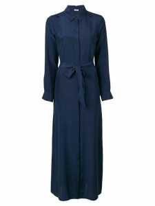 P.A.R.O.S.H. belted shirt dress - Blue