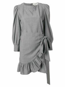 Isabel Marant Étoile short wrap dress - Grey