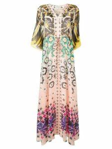Temperley London Beaumont Claudette kaftan dress - PINK
