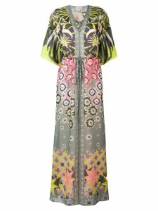 Temperley London Beaumont Claudette kaftan dress - Green