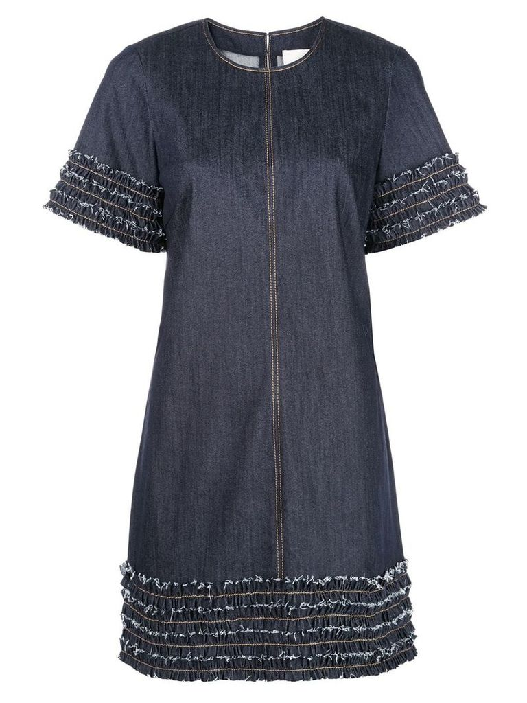 Cinq A Sept Ashton denim dress - Grey