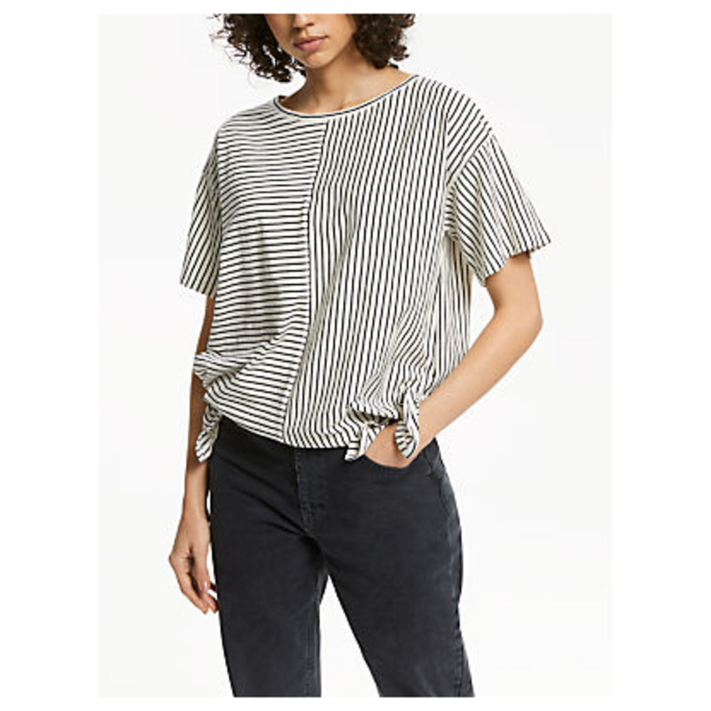 AND/OR Side Tie Cutabout T-Shirt