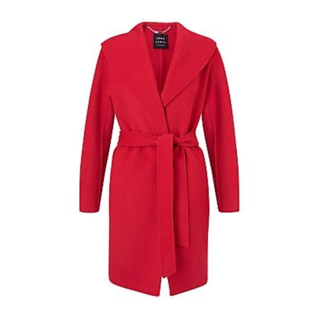 John Lewis & Partners Shawl Collar Wrap Jacket