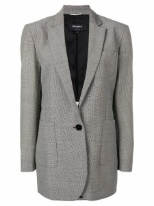 Rochas classic single-breasted blazer - Black
