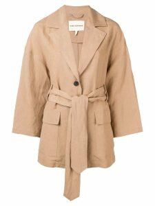 Mara Hoffman Atticus oversized blazer - Brown