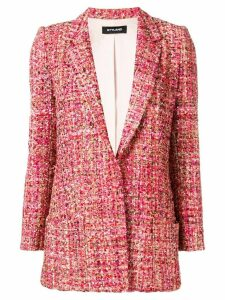 Styland tweed blazer - Red