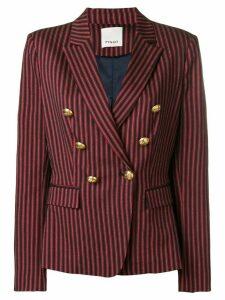 Pinko stripped blazer - Red