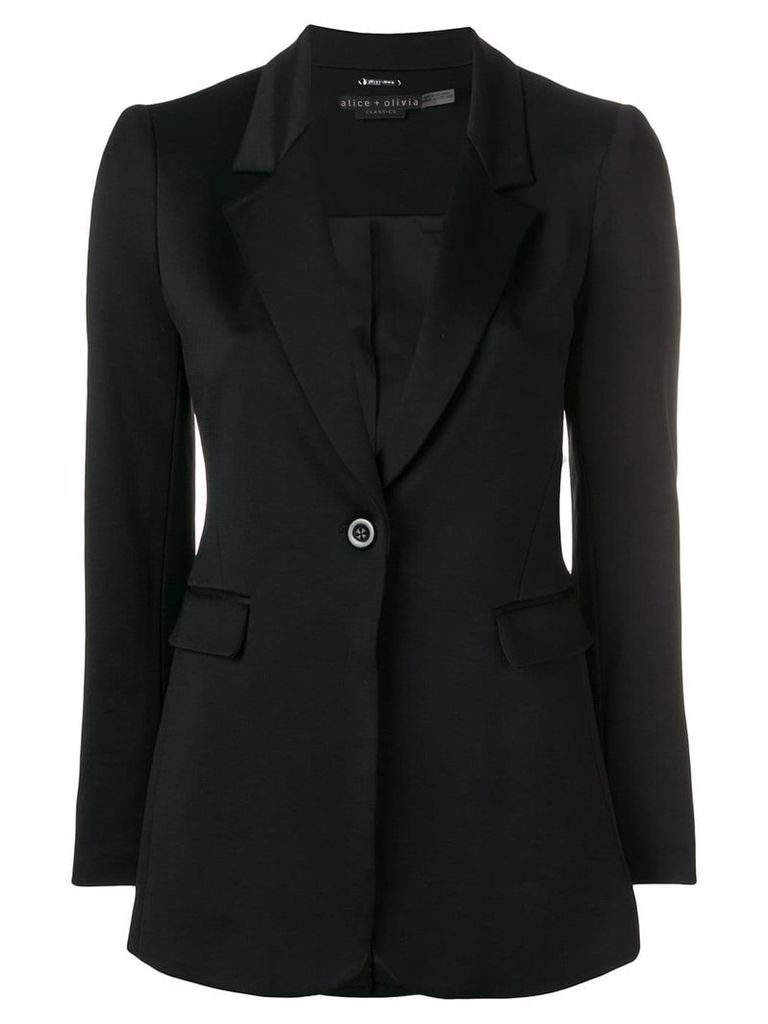 Alice+Olivia Macey blazer - Black