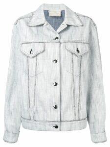 Marco De Vincenzo classic denim jacket - White