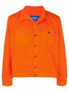 Anton Belinskiy classic denim jacket - Orange