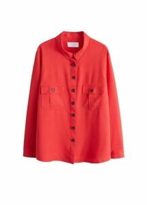 Chest-pocket soft shirt