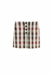 Check miniskirt