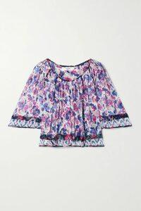 MadeWorn - Metallica Embellished Distressed Printed Cotton-jersey T-shirt - Charcoal