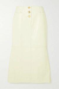 LoveShackFancy - Margaret Ruffled Broderie Anglaise Cotton Mini Dress - White