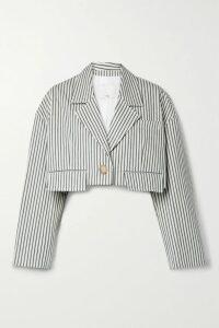 Madewell - Metropolis Stretch-denim Mini Skirt - Black