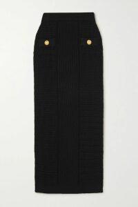 MICHAEL Michael Kors - Fluted Stretch-knit Mini Dress - Saffron