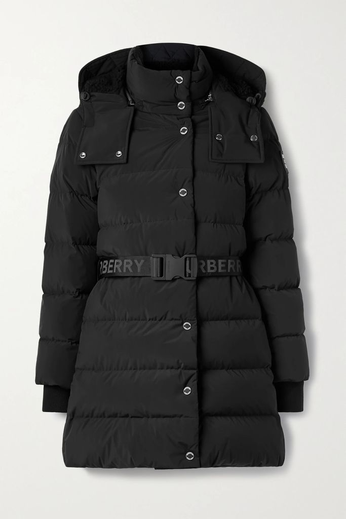 McQ Alexander McQueen - Terry-panelled Cotton-jersey Hoodie - White
