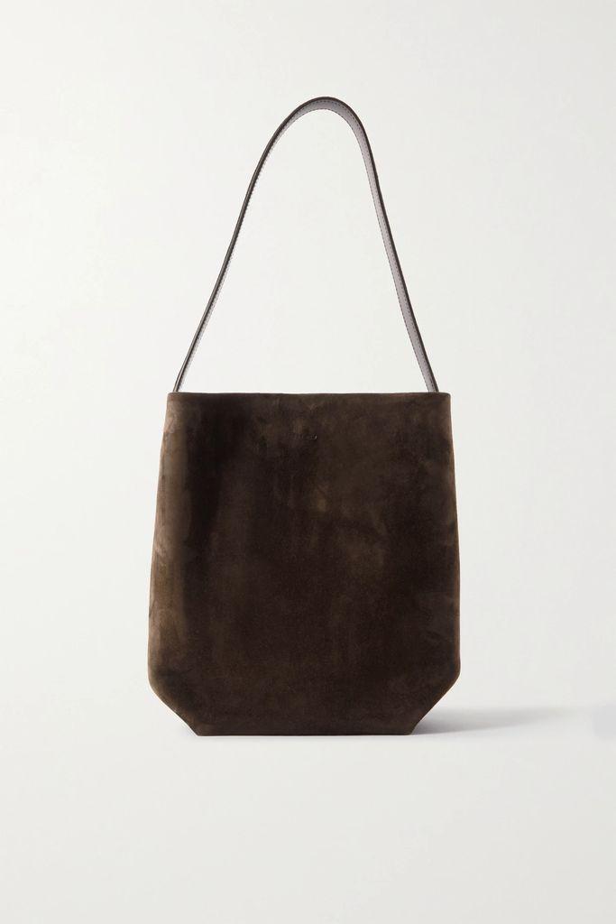Prada - Asymmetric Pleated Crepe Midi Skirt - Black