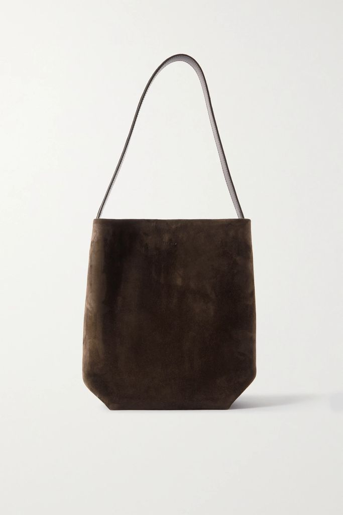 Prada - Asymmetric Pleated Crepe Midi Skirt - Black