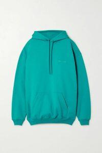 Victoria Beckham - Cotton-blend Turtleneck Sweater - Brown