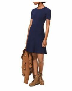 Michael Michael Kors Stretch-Knit Flare Dress