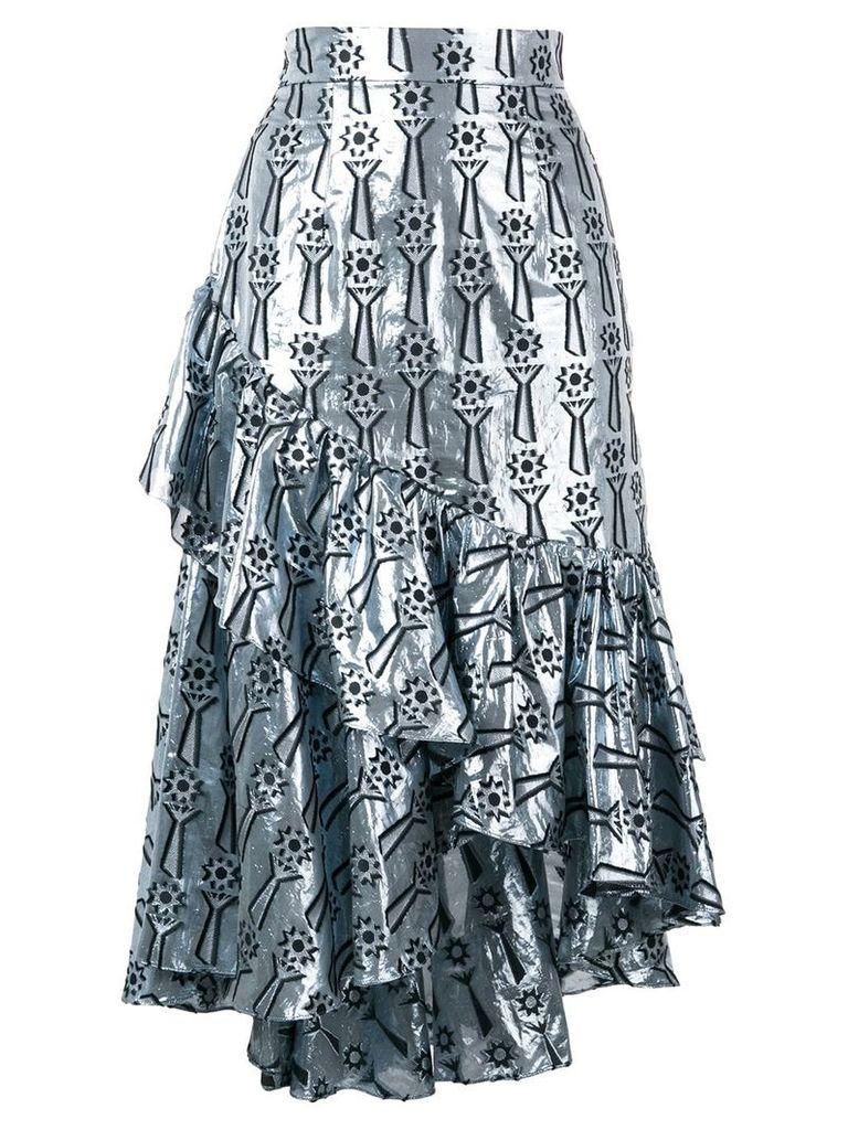 Temperley London Eliska skirt - Blue