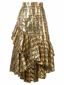 Temperley London Eliska skirt - GOLD