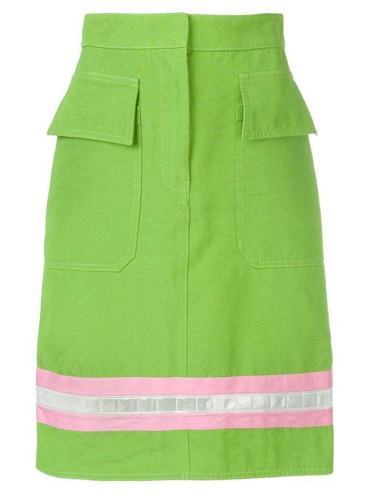 Calvin Klein 205W39nyc high waisted pencil skirt - Green