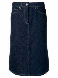 Calvin Klein denim pencil skirt - Blue