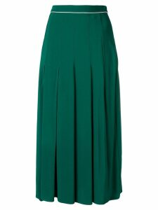 Twin-Set pleated midi skirt - Green