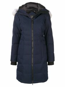Canada Goose Pembina hooded parka - Blue