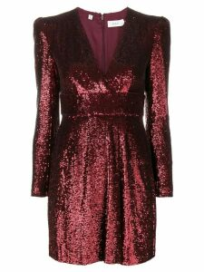 A.L.C. metallic sequin dress - Red