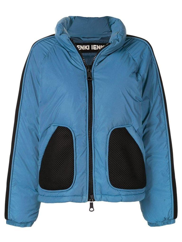 Ienki Ienki reflective puffer jacket - Blue