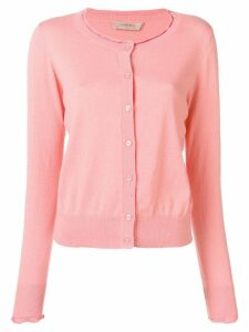 Twin-Set scalloped cardigan - Pink