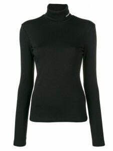 Calvin Klein 205W39nyc embroidered logo jumper - Black