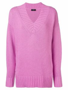 Joseph deep V-neck jumper - Pink