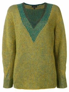 Rag & Bone ribbed knit jumper - Yellow