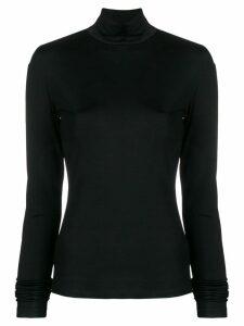 Mm6 Maison Margiela roll neck jumper - Black