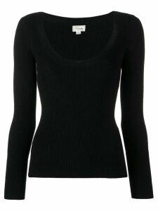 Temperley London Joan knitted top - Black