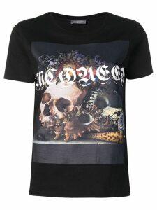 Alexander McQueen photographic-print T-shirt - Black