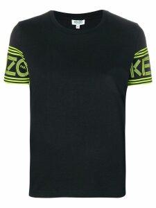 Kenzo logo sleeves T-shirt - Black