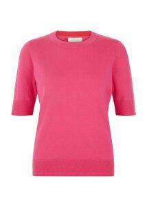 Paula Sweater Bright Pink