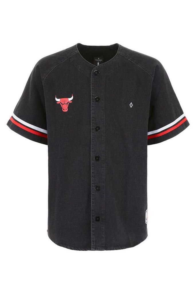 Marcelo Burlon Chicago Bulls Denim Shirt