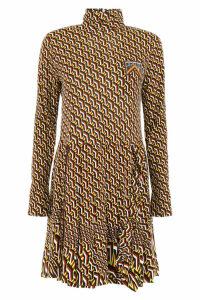 Prada Printed Jersey Dress