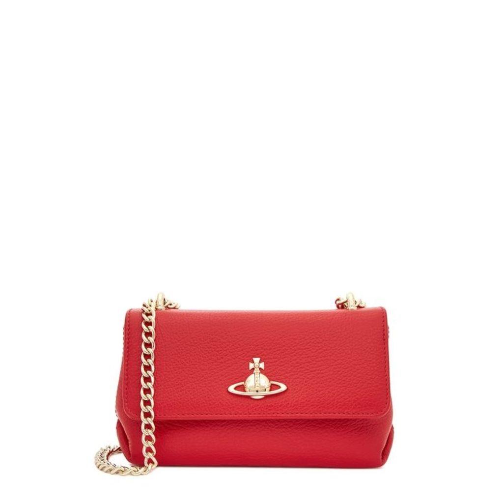 Vivienne Westwood Balmoral Small Leather Shoulder Bag